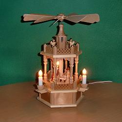 Pyramide Christie Geburt natur elektrisch