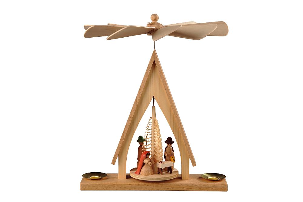 Pyramide Kaue klein, Christi Geburt